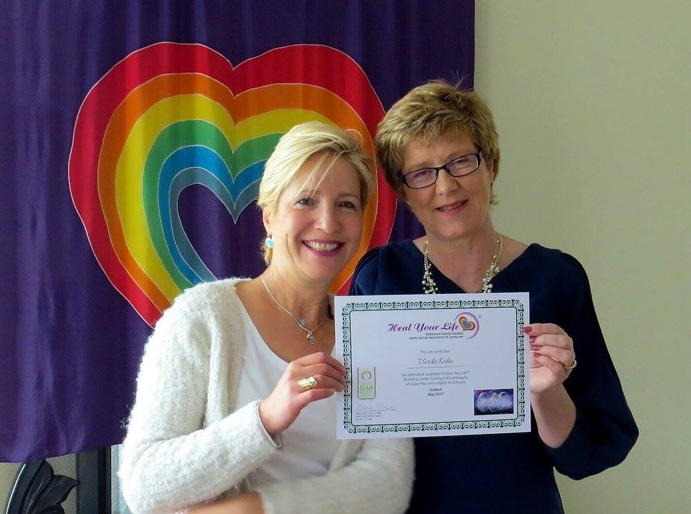 21 - 2017, Vardit gets her Heal Your Life Workshop Leader certificate